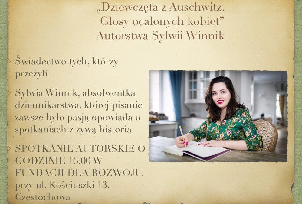 Spotkanie autorskie z Sylwią Winnik już 18 czerwca