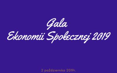 Gala Ekonomii Społecznej 2019