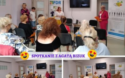 Spotkanie autorskie z Agatą Bizuk